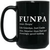 Funpa Definition Mug Gift For Grandpa