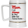 Mum Your Little Girl Financial Burden Mug Funny Gift For Mum