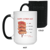 Happy Father's Day Steak The Rarest Of Them All Mug Gift For Dad