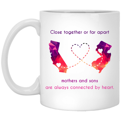 MOTHERS AND SONS ARE ALWAYS CONNECTES BY HEART - FAMQ