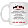 Famh to my future mother in law gifts for mother in lawgift for mom mug for mom