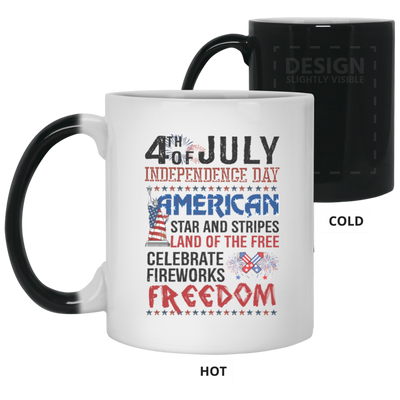 4th Of July Independence Day American Stars And Stripes Mug Gift For Mom