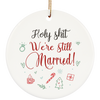 Ttbp - we still married - ornament - ornaments for christmas  decoration gift for christmas  tree ornaments