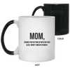 Mom Thanks For Putting Up With My Shit Mug Gift For Mom
