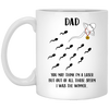 Dad You May Think I'm A Loser But Out Of All Those Sperm I Was The Winner Mug Gift For Dad