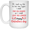 I would fine you sooner, Gifts for him, Gifts for her, gifts for couples, Mug for husband , White/black coffee mug, All Size Mug