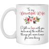 To beautiful wife - perfect gift for wifes- famh