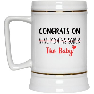 Congrats On Nine Months Sober The Baby Mug Gifts For New Mom