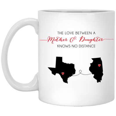 The Love Between Mother And Daughter Knows No Distance Mug Gift For Mom