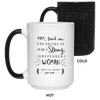 Thanks For Raising Me To Be A Strong Woman Mug Gift For Mom