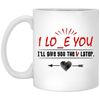 I Lo e You Awesome Mug Gift For This Valentine