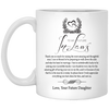 To my future in law, Gift For Mom, Mug for mom , Mother day's gift , Gift For Dad, Mug for dad , White/black coffee mug, All Size Mug, Father's Gift, Father day's gift
