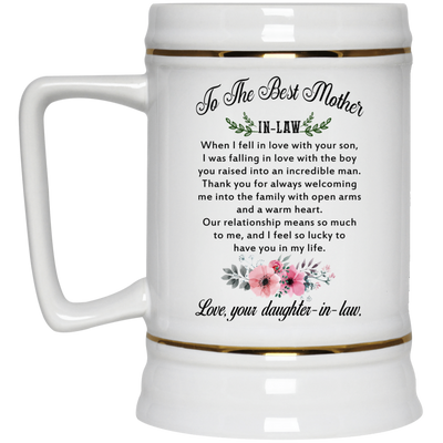Gift For Mother-in-law I Feel So Lucky To Have You In My Life Mug