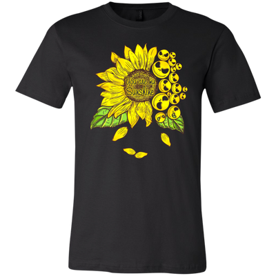 Famth you are my sunshine t-shirt gift ideas gifts for hippie lovers gift for women shirt unisex shirt plus size shirt