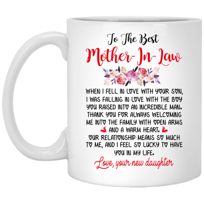 To The Best Mother-in-law Mug - Gift For Mother-in-law