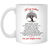 Thank You For Raising Your Son Mug Gift For Mother In Law