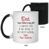 Last chance to shop engraved for dad - famh gifts for dad gift for father coffee mug special gift for him all size mug color changing mug