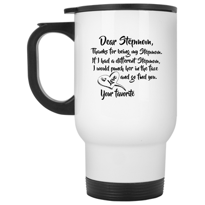 Thanks for being my stepmom - Meaningful Gift For Stepmom Famth
