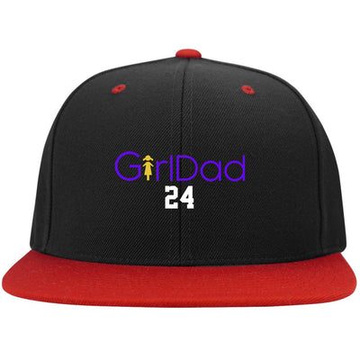 Girl Dad 24 Hat Purple Cap - Gift For Dad