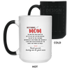 But the Heart that makes us family - Bonus Mom Mug Famth