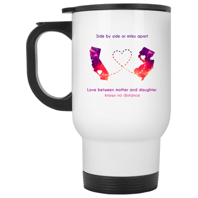 Love Between Mother And Daughter Knows No Distance  - Famq  Mom Mug