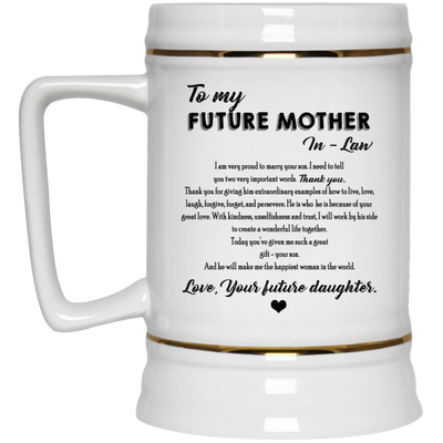 PERFECT GIFT FOR FUTURE MOTHER-IN-LAW - FAMH