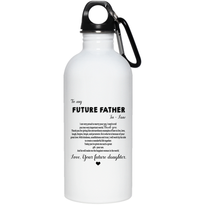 To My Future Father In Law Love Your Future Daughter Mug Gift For Father In Law