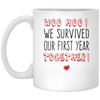 WOO HOO ! WE SURVIVED OUR FIRST YEAR TOGETHER!- FAMTH