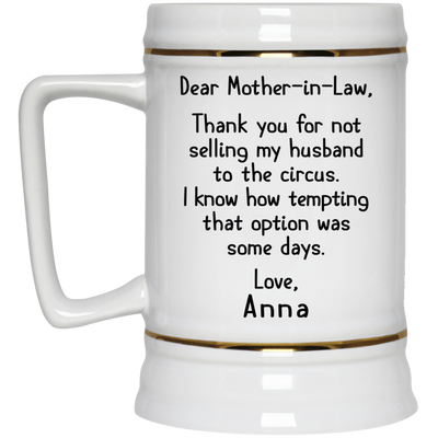 Meaning Gift For Mother-In-Law - Famq Mom Mug