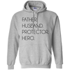 Famh - father husband protector hero gift for him gift for husband all size blanket couple blanket gift for dad