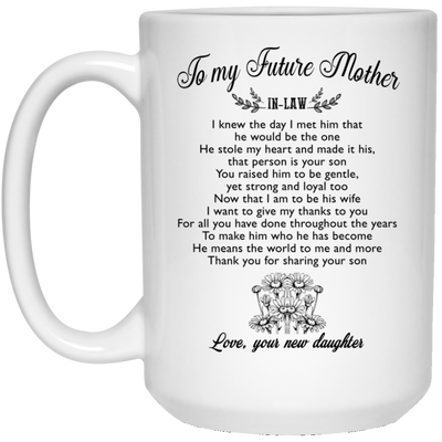 TO MY FUTURE MOTHER - FAMH