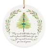 My Mind Still Talks To You Christmas Ornament