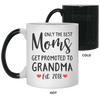Only The Best Moms Get Promoted To Grandma Mug Gift For Mom Gift For Grandma