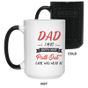 I'm So Glad Your Pull Out Game Was Weak Mug Gift For Dad