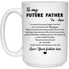 Famh to my future father in law gifts for father in law gift for dad mug for dad