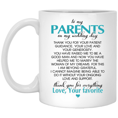 WEDDING GIFT FOR YOUR PARENTS - FAMH