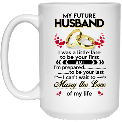 Future husband mug - Gift for future husband