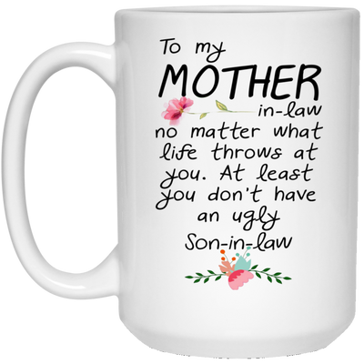 Meaningful Gift For Mother-In-Law  - Famth Mom Mug