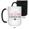 I Lo E You Awesome I Give You The V Later Mug Gift For This Valentine For Him