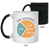 Dad Decisions Mug - Fathers Day Mugs
