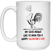 Wish You A Happy Valentine's Day Mug Gift For Her