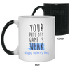 Your Pull Out Game Is Weak Af Funny Gift For Husband Color Changing Mug