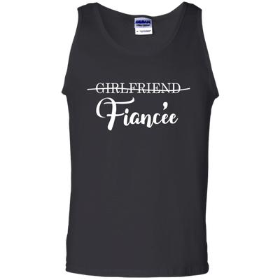 Girlfriend fiancee whiteb gifts for girlfriend gift for fiancee women shirt special gift for her unisex tank top plus size shirt