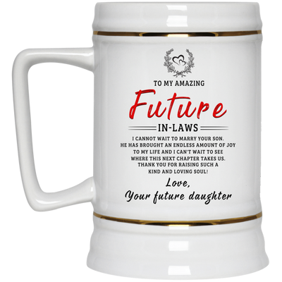 Famh amazing future in law  fudau  dad mug  gifts for dad father's gift  gift for men