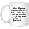 Dear Stepmom - Meaningful Gift For Stepmom - Famth Family Panda