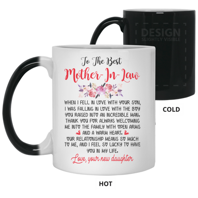 To The Best Mother-in-law Mug Gift For Mother-in-law