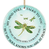 Ntth - dragonfly - ornament - ornaments for christmas  decoration gift for christmas  tree ornaments