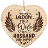 I'm A Wife To A Husband Wings Ornaments Gift For Christmas