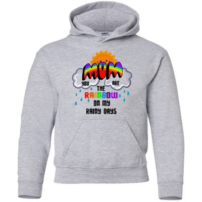 You are the rainbow on my rainy days gift for couple couple shirt gift
