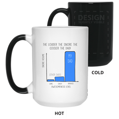 The Louder The Snore The Cooler The Dad Mug Gifts For Dad
